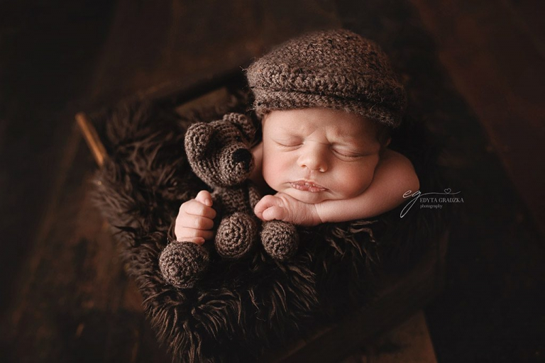 Adorable little jack a christmas baby and the first newborn shoot 2018 🙂
